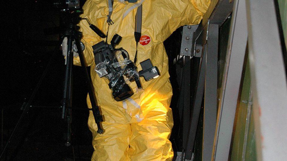 Sergej Košelev, kameraman černobylského reaktoru