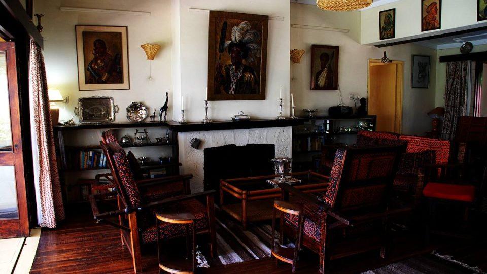 Zařízení domu je od smrti George Adamsona nezměněno