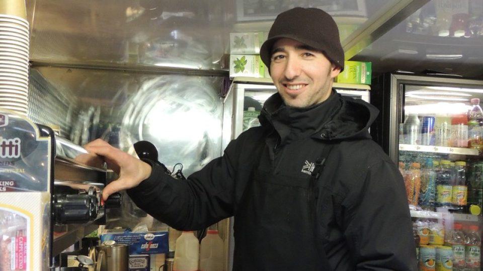 Alžírský barista Rafík