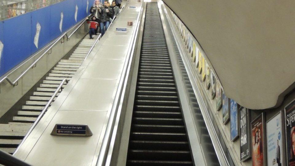 Londýnské metro je jedním velkým uměleckým dílem