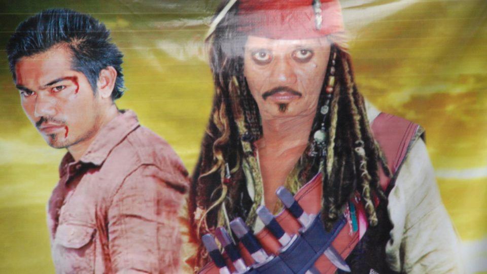Filmový plakát na nový trhák