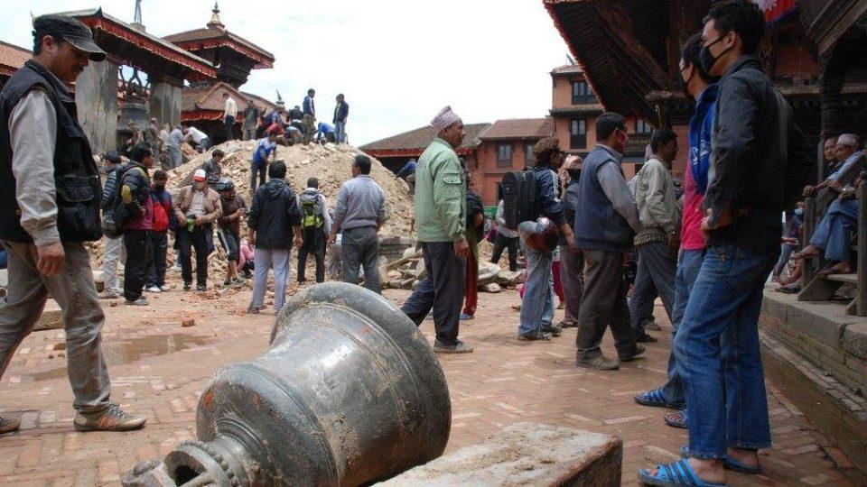 Zničené jsou v Nepálu památky a stavby nevyčíslitelné hodnoty