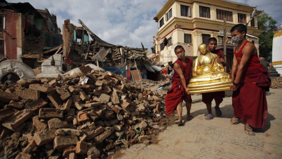 Zemětřesení v Nepálu zničilo množství kulturních památek