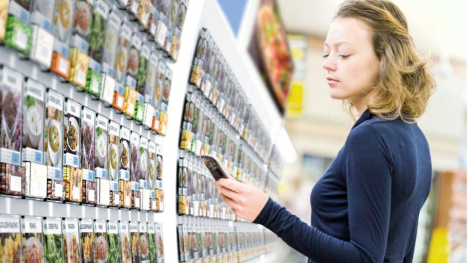 Mobilní aplikace a chytrý systém vážení a skladování by mohl revolučním způsobem proměnit nakupování v supermarketech.