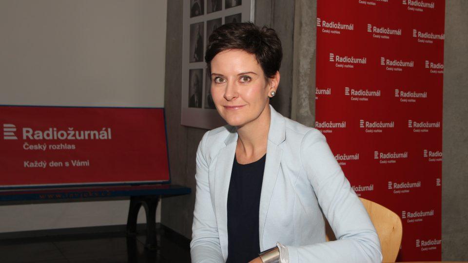 Eva Le Peutrec byla hostem moderátorky Lucie Výborné
