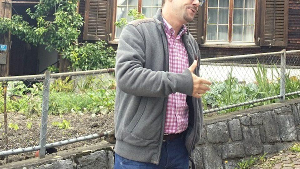Majitel palírny Marcel Telser se dříve živil jako právník