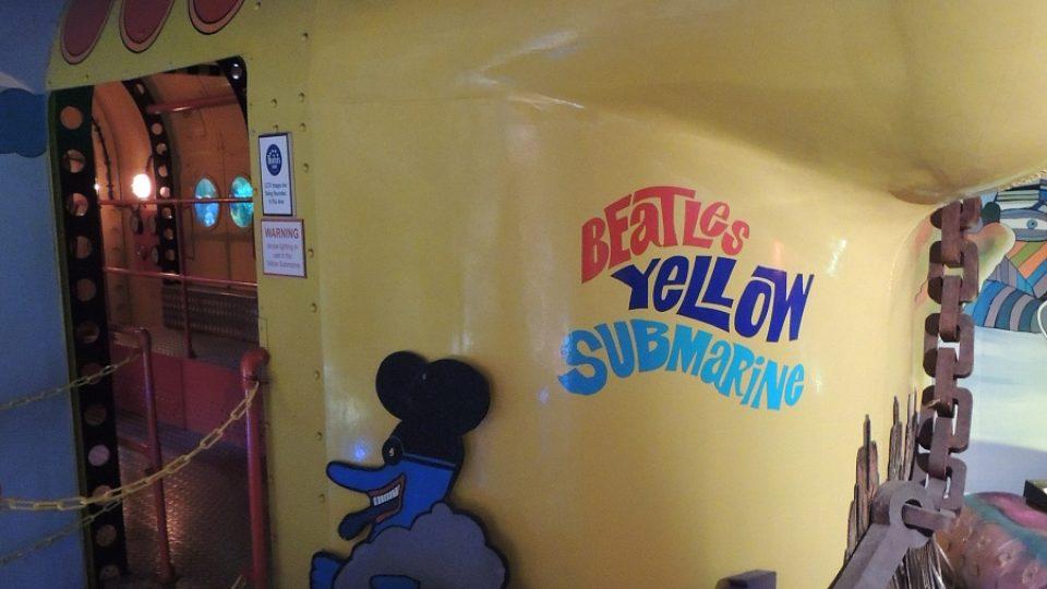 Expozice interaktivního muzea Beatles Story v anglickém Liverpoolu