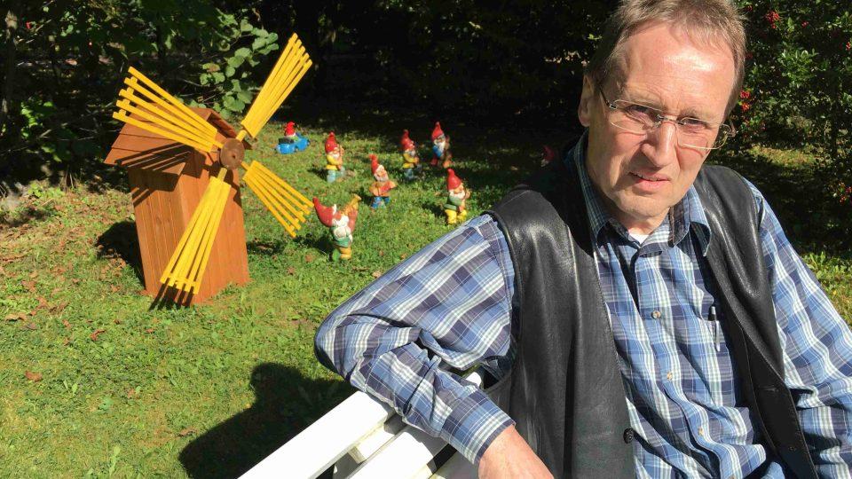 Frank Ullrich, zakladatel trpaslíkového parku v durynském Trusetalu