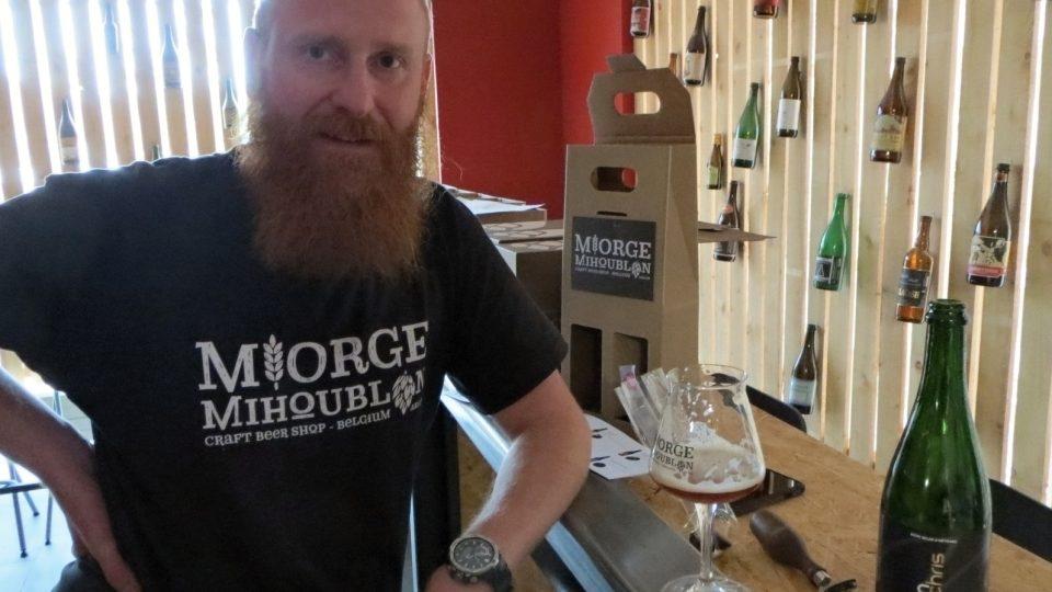 Christophe Gillard patří v Belgii mezi uznávané pivní someliéry