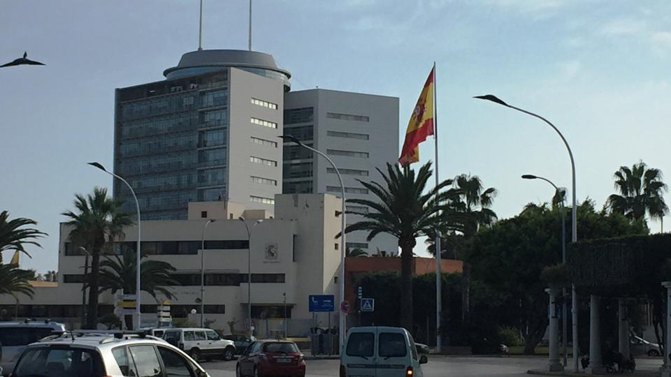 Plaza de Espana v Melille