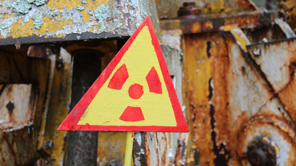 Pozor radioaktivní
