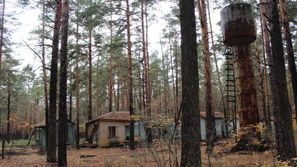 Bývalý pionýrský a rekreační tábor