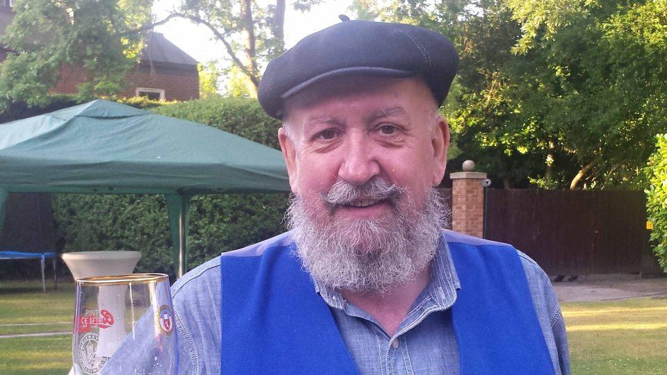Roderick Jones získal ocenění britský pivní sommeliér roku