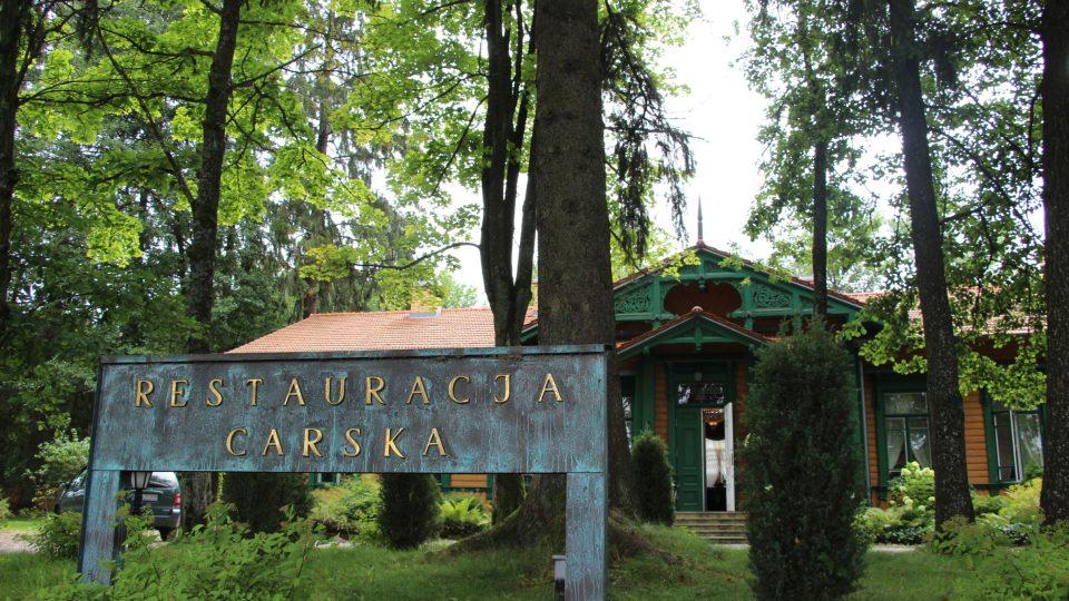 Carská restaurace v Bělověži je v provozu od roku 2005
