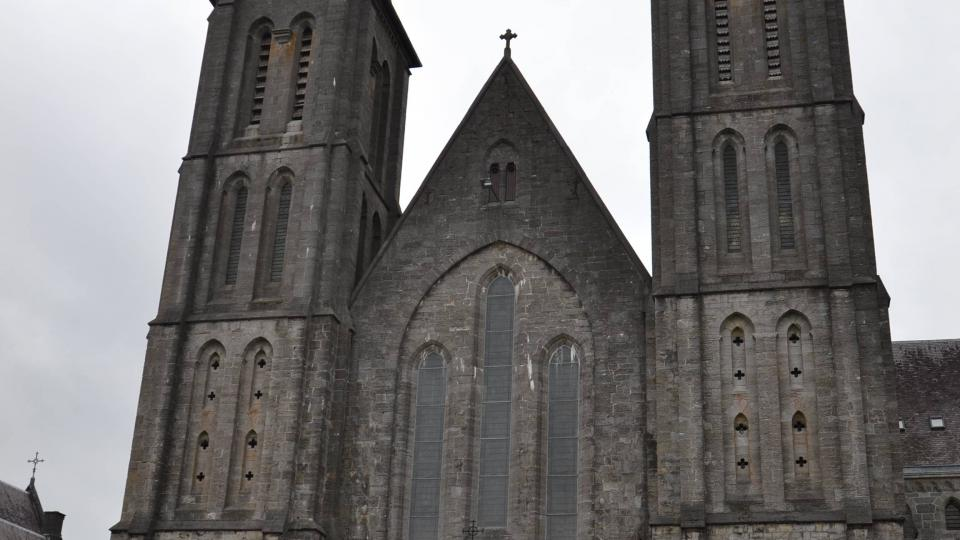 Klášterní kostel v opatství Maredsous
