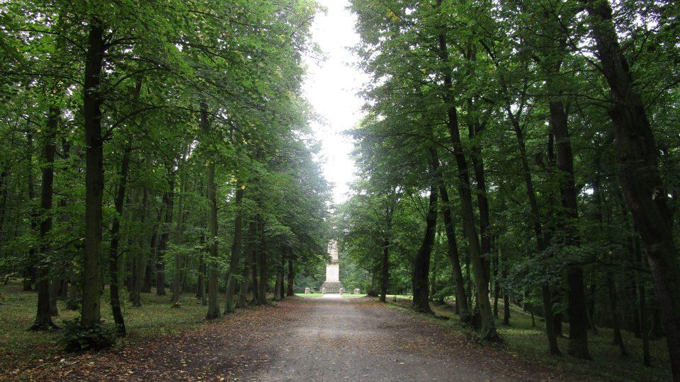 Zámecký park Krásný Dvůr