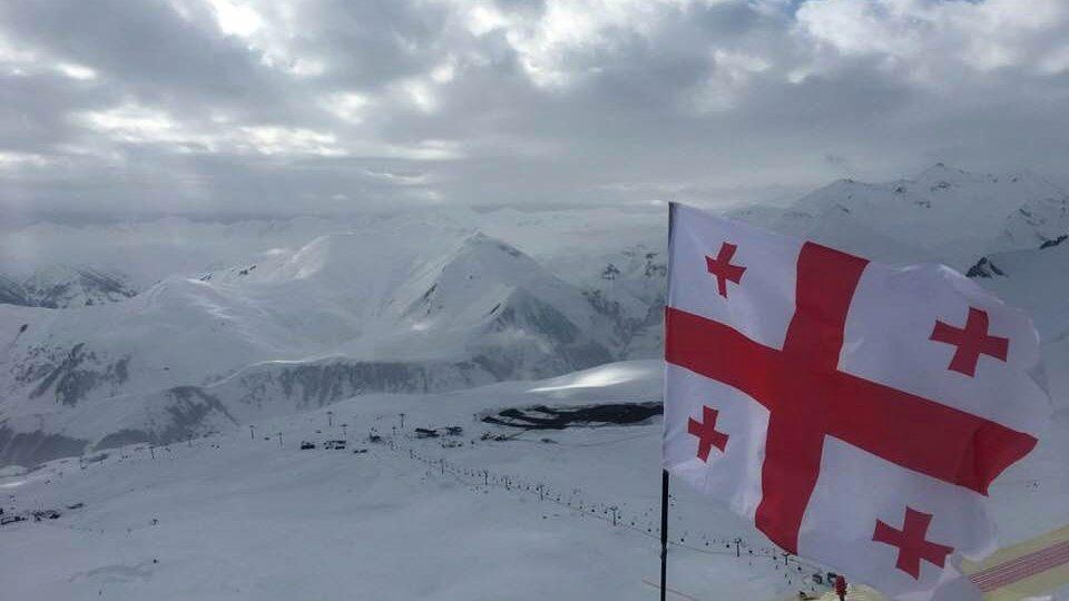 Lyžařský areál Gudauri patří mezi nejznámější v Gruzii