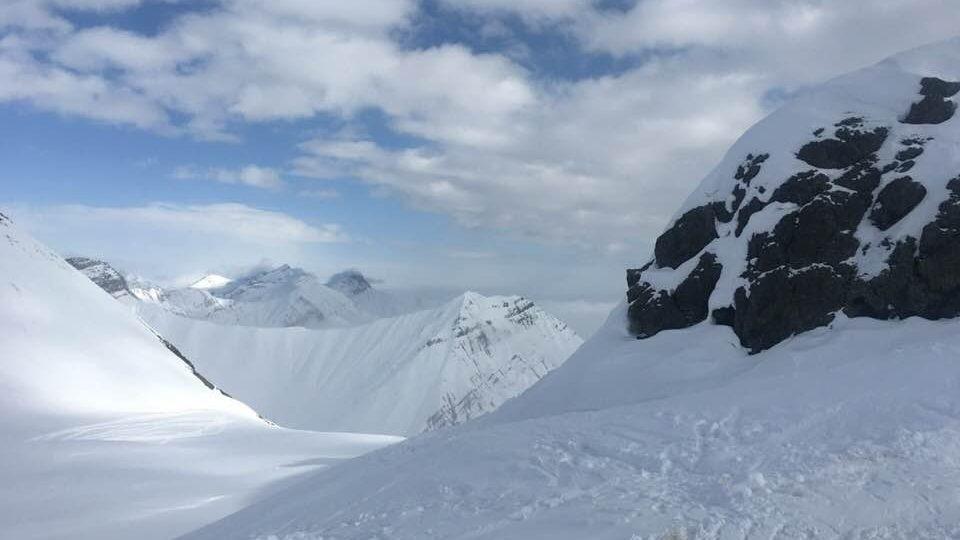 Zimní středisko Gudauri leží na jižních svazích Kavkazu