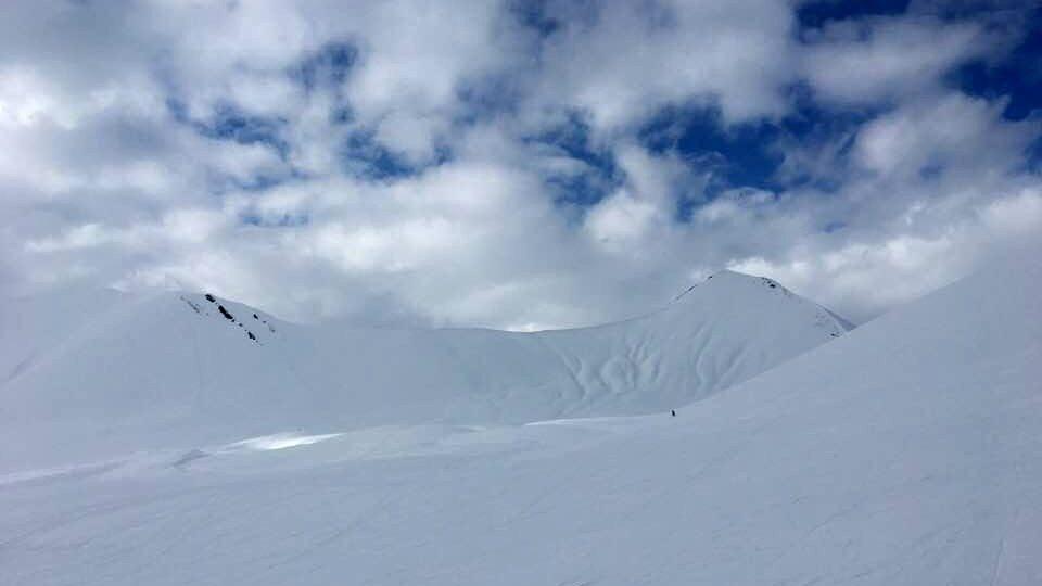 gudauri je považováno za lokalitu, kde není třeba se obávat pádu lavin