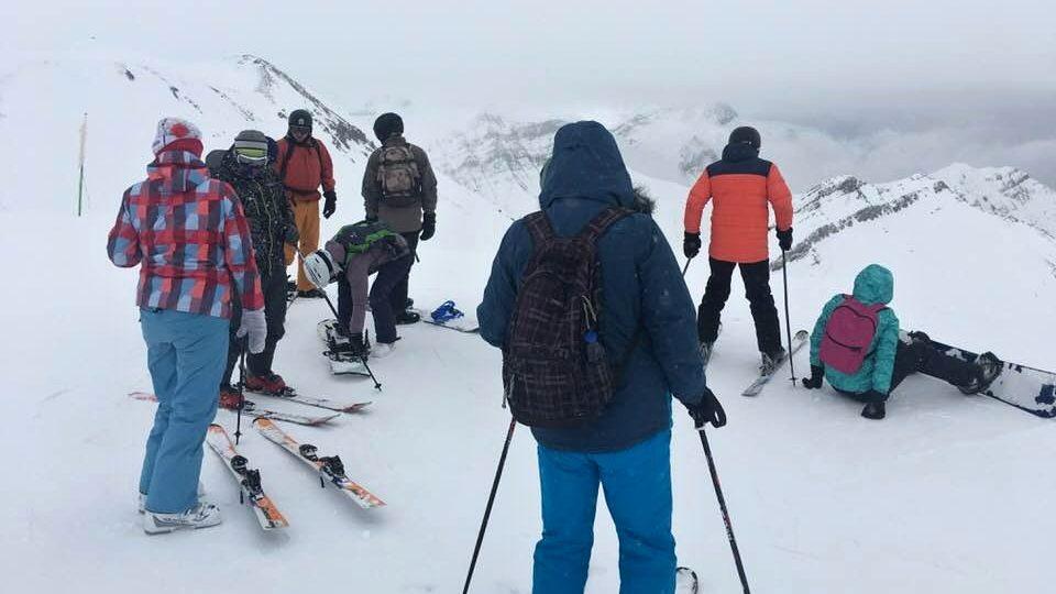 Výměnný pobyt přivedl na svahy skiareálu Gudauri také skupinu studentů z Německa, Rakouska, Nizozemí i České republiky