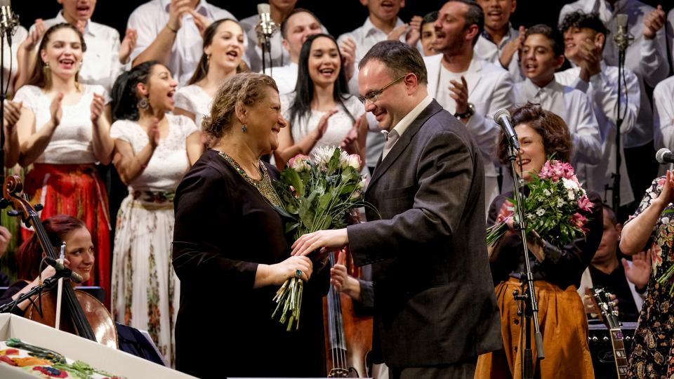 Křest CD Hej, Romale: Ida Kelarová a David Mareček