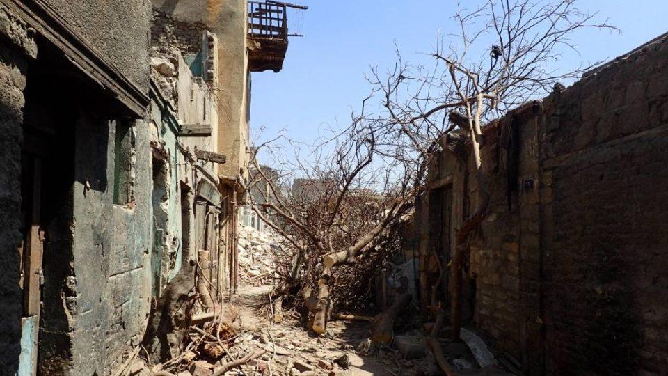 Staré chudinské domky už v centru Káhiry podle jejích představitelů nemají co dělat