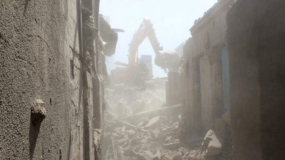 Bagry, sutiny a mračna prachu. Chudinskou čtvrť nahradí moderní zástavba