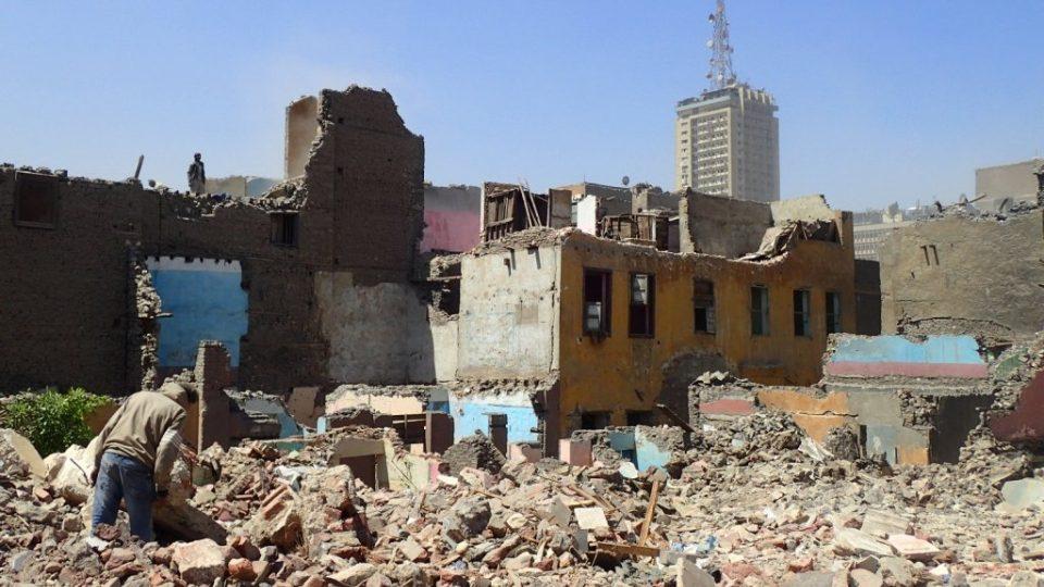 Historická čtvrť Maspero v centru Káhiry nenávratně mizí