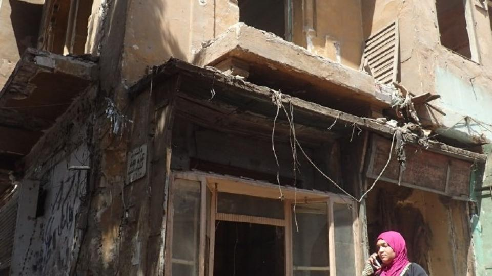 Historické domy ve čtvrti Maspero už jejich obyvatelé museli opustit
