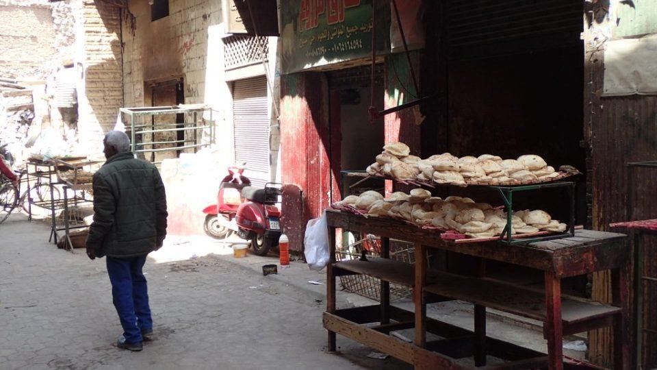 Pouliční prodej k životu ve staré Káhiře neodmyslitelně patřil