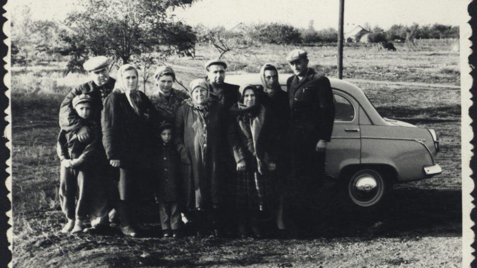 Krymští Češi na archivním snímku z 60. let 20. století