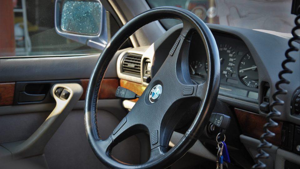 BMW 735 iLA Václava Havla
