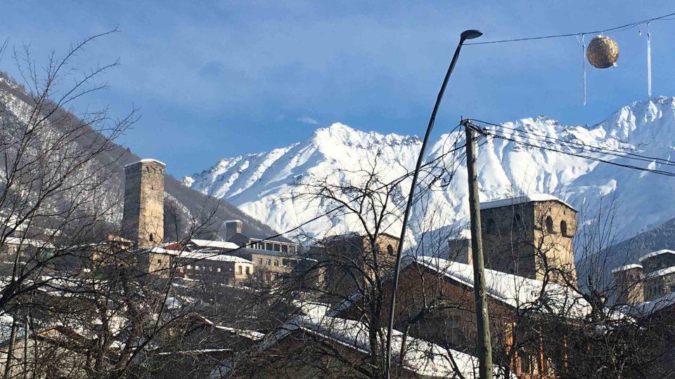 Gruzínská horská provincie Svanetie