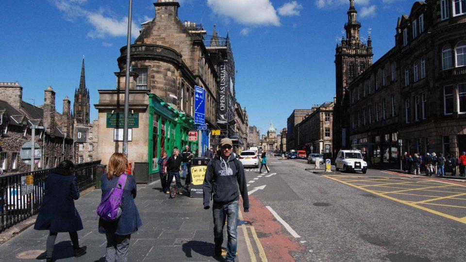 Ulice Edinburghu