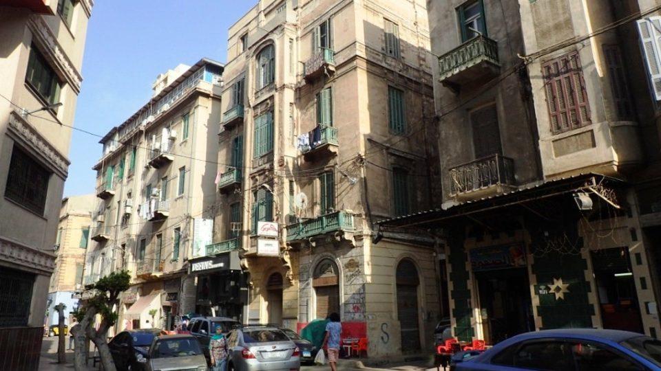 Stará zástavba v Alexandrii