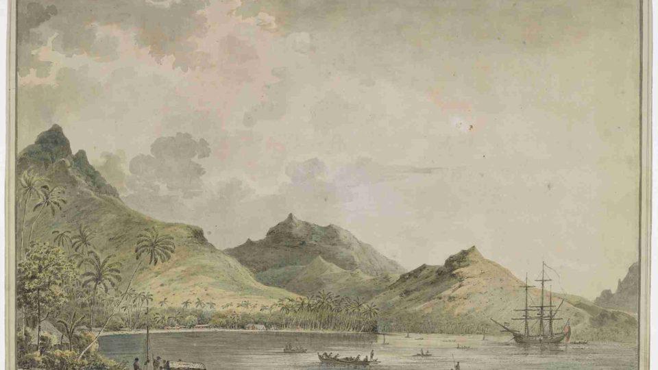 Takto John Webber zachytil Havaj v roce 1777