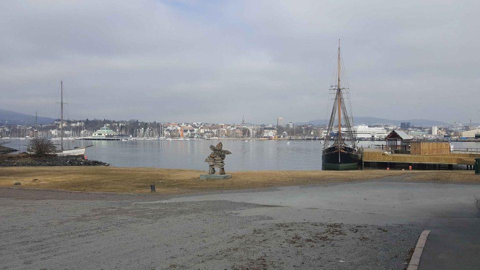 Stanoviště vikingského klubu leží kousek od muzea legendárního dobrodruha Thora Heyerdahla