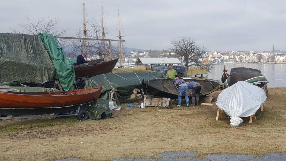 O historické norské čluny se stará asi deset nadšenců