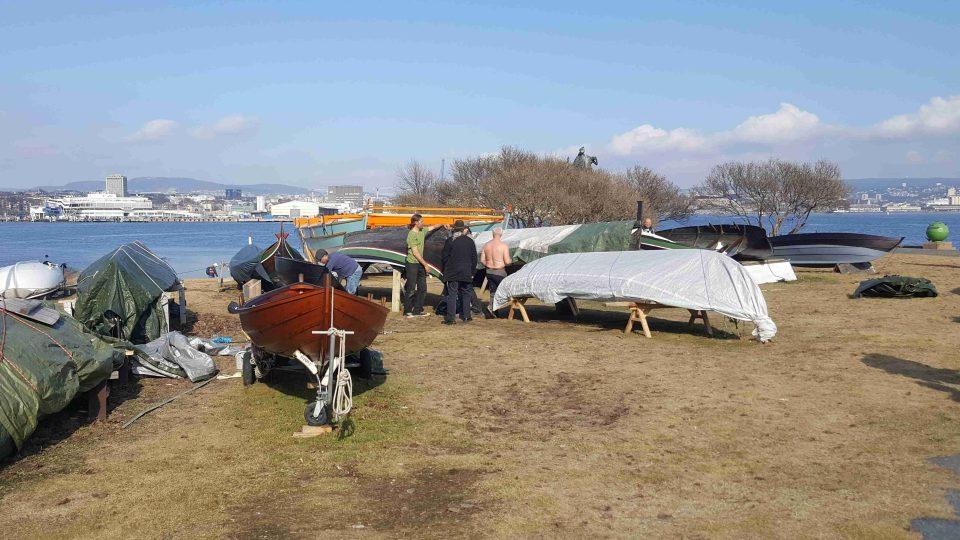 Členové kmene se těší na jarní vyplutí celou zimu