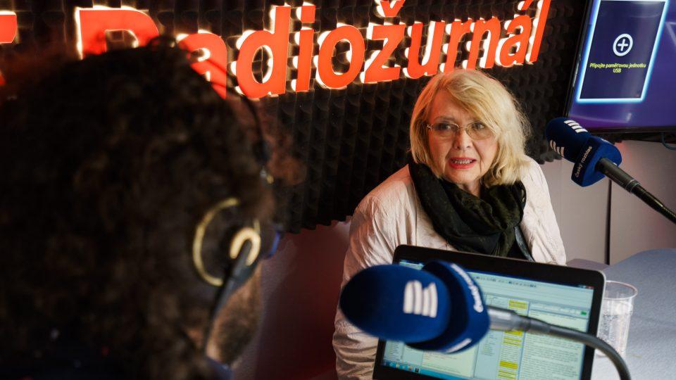Lída Rakušanová ve speciálu Radiožurnálu Třicetkrát o svobodě