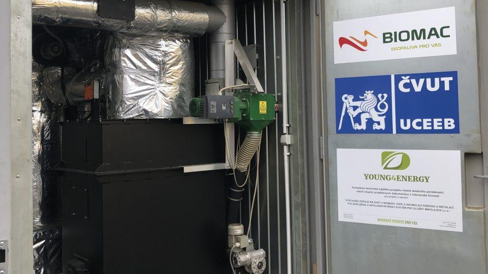 Mikroelektrárnu Wave vyvinulo Univerzitní centrum energeticky efektivních budov ČVUT