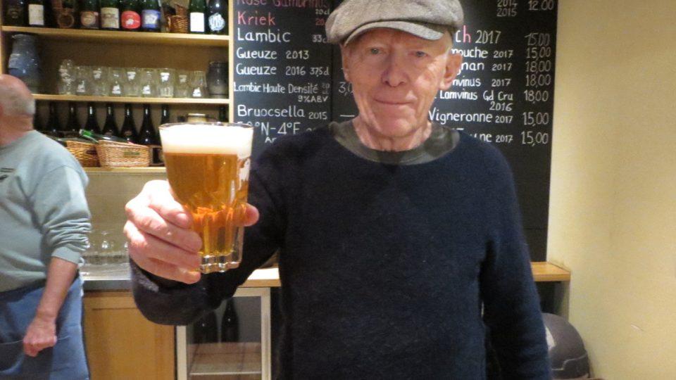 Spolumajitel pivovaru Cantillon Jean-Pierre Van Roy je už čtvrtou generací provozovatelů.