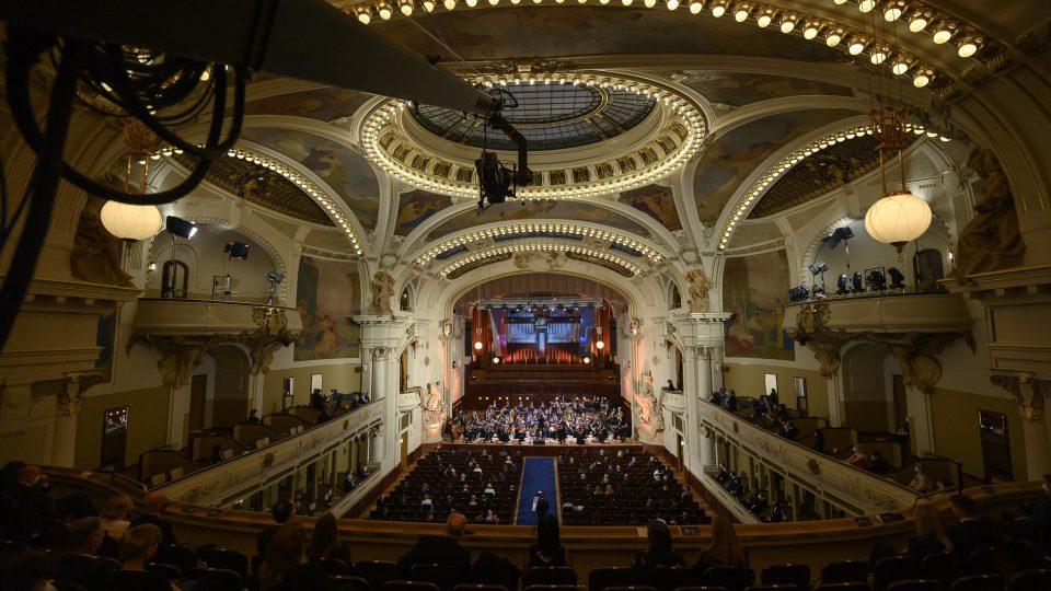 Zahajovací koncert Pražského jara 12.5.2021, Collegium 1704 řídil Václav Luks