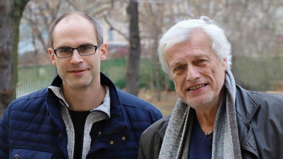 Docent Vladimír Beneš a profesor Vladimír Beneš
