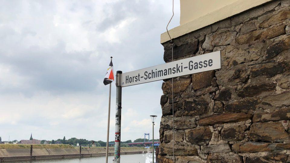Schimanski tu dodnes má vlastní ulici