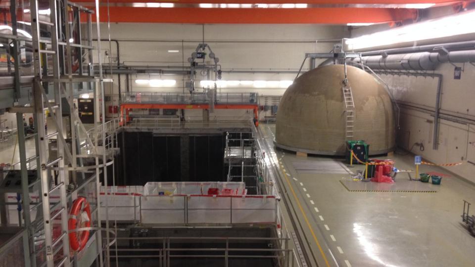 Dostat se do útrob jaderné elektrárny mohou zájemci až do doby, než bude stavba úplně rozebrána