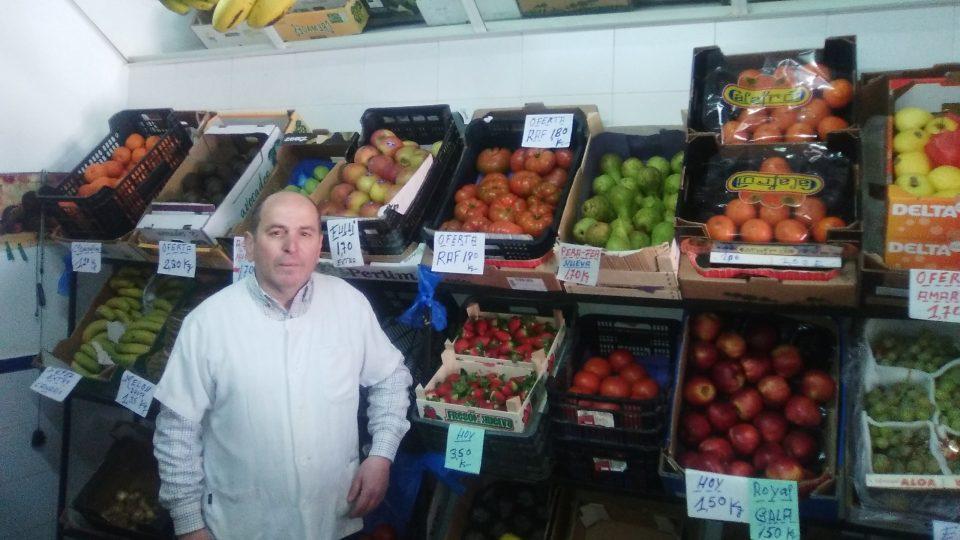 Pan Lorenzo ve svém obchůdku prodává už 20 let