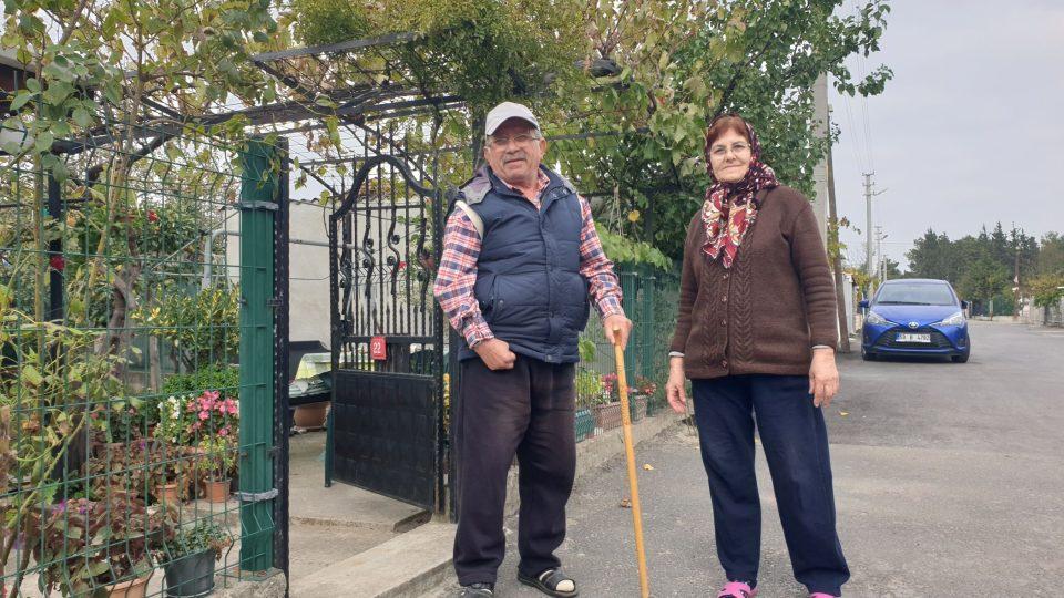 Hasan Ocaklı s manželkou je spokojeným obyvatelem čtvrti Havuzlar