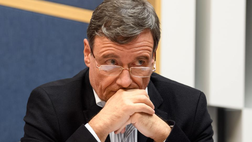 David Rath, Česká Suverenita, při debatě Českého rozhlasu před volbami do Evropského parlamentu v květnu 2019.