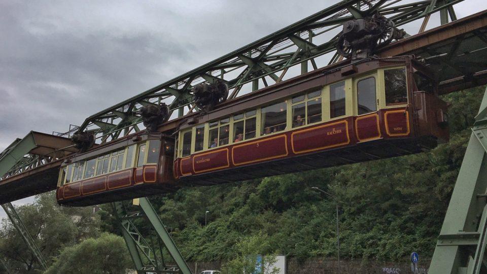 Wuppertalská nadzemní dráha